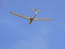 Ein Segelflugzeug